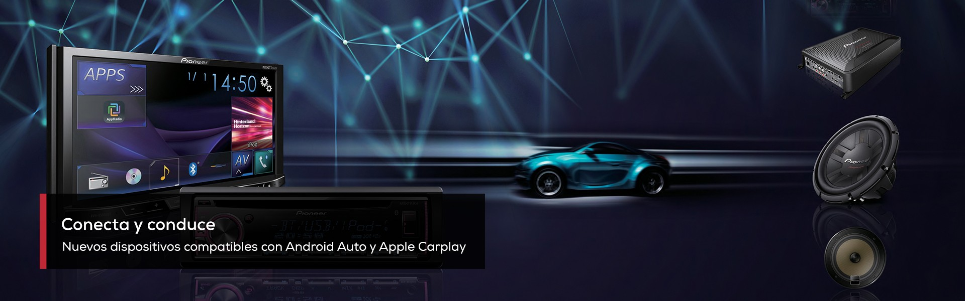 Dispositivos compatibles Apple CarPlay & Android Auto